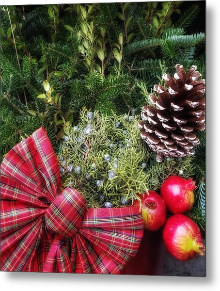 Christmas Arrangement Metal Print