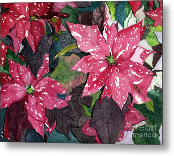 Christmas Beauty Metal Print