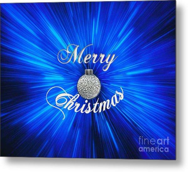 Christmas Brillance Metal Print
