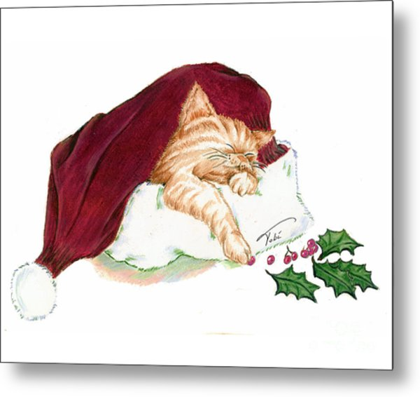 Christmas Dreamer Metal Print by Tobi Czumak