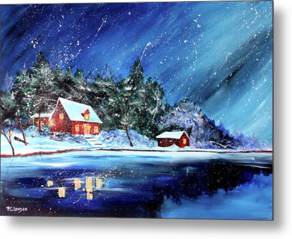Christmas Eve Metal Print