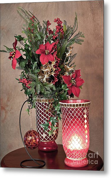 Christmas Jewels Metal Print