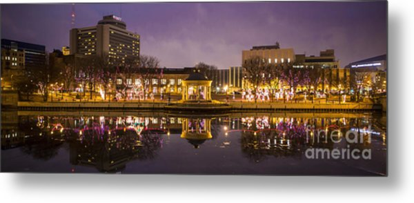 Christmas Reflections  Metal Print