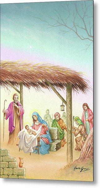 Christmas Scene 1 Metal Print