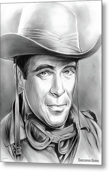 Christopher George Metal Print