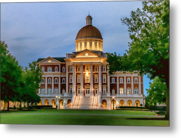 Christopher Newport Hall An Exquisite Jewel Metal Print