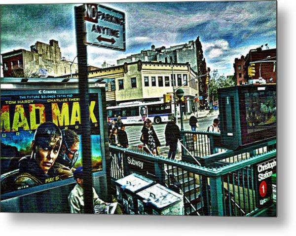Christopher Street Greenwich Village  Metal Print