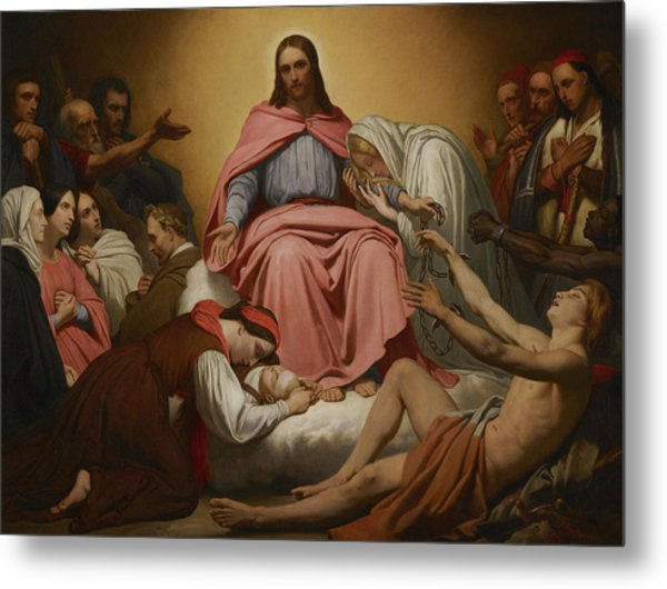 Christus Consolator, 1851 Metal Print