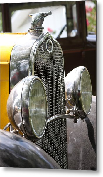Chrome Grill Metal Print by Jonathan Kotinek