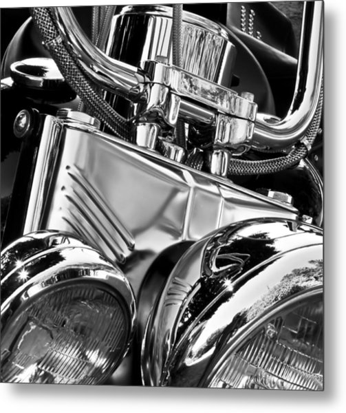 Chromed Metal Print