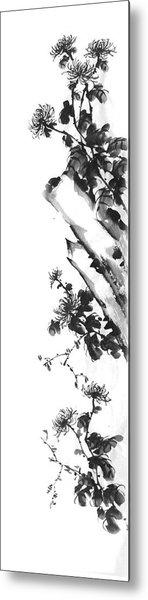 Chrysanthemum Stone 2 Metal Print by Chang  Lee