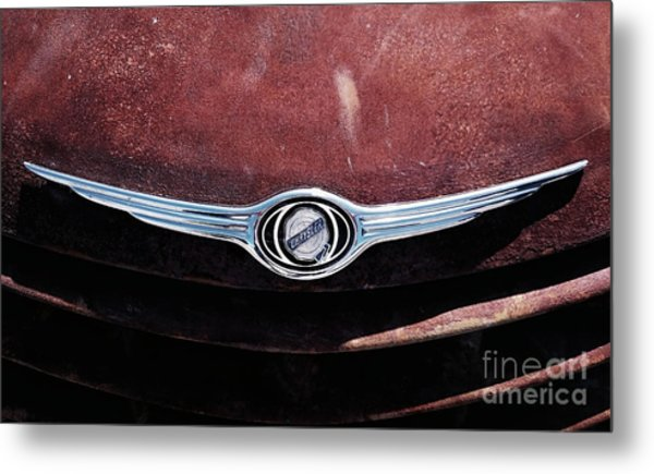 Chrysler Hood Metal Print
