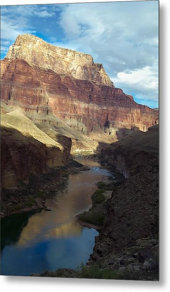 Chuar Butte Colorado River Grand Canyon Metal Print