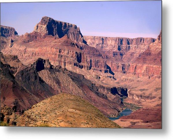 Chuar Butte  Grand Canyon National Park Metal Print