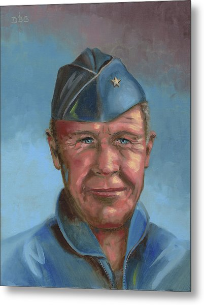 Chuck Yeager Metal Print