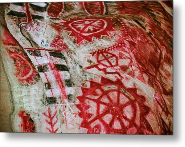 Chumash Painted Cave State Historic Park Metal Print