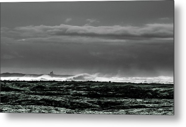 Church By The Sea Metal Print