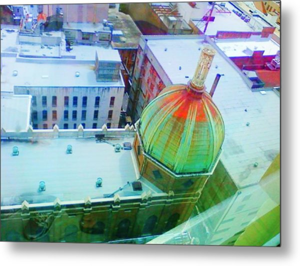 Church Dome II Metal Print