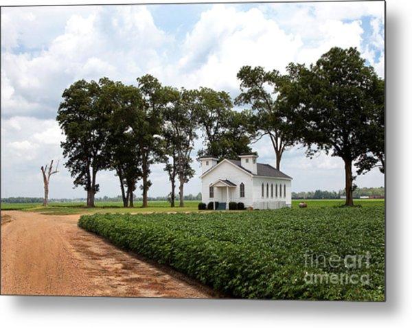 Church From The Help Movie In Mississippi Metal Print