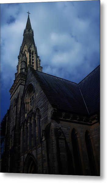 Church In Bournemouth - Uk Metal Print