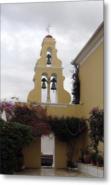 Church In Corfu Metal Print