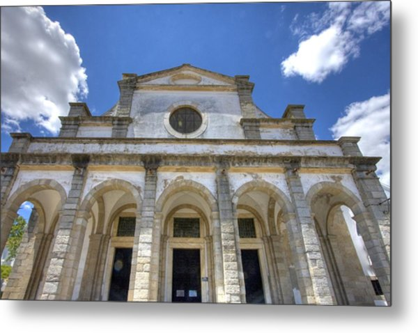 Church In Evora Metal Print by Andre Goncalves