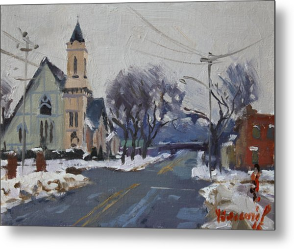 Church In North Tonawanda Metal Print