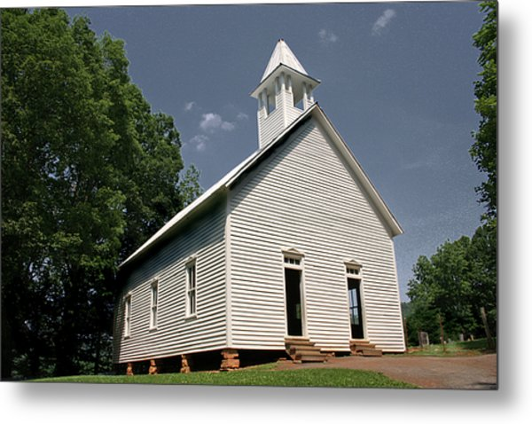 Church In The Cove Metal Print by Barry Jones