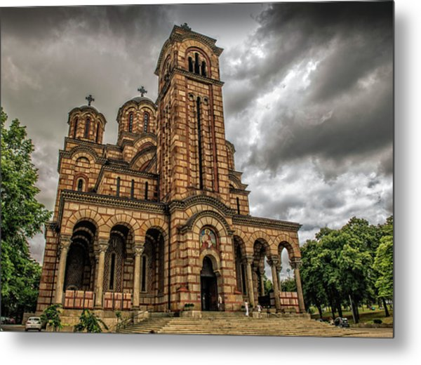 Church Of Saint Mark Metal Print