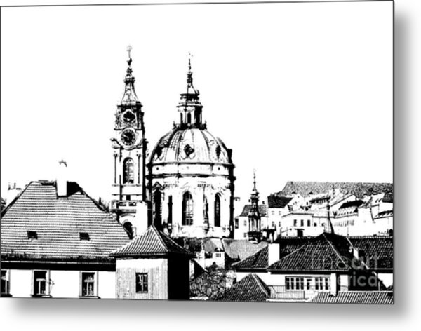 Church Of St Nikolas Metal Print
