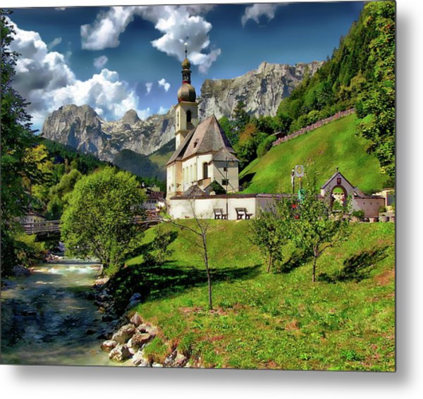 Church Of St. Sebastian Metal Print