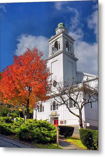 Church Of The Pilgrimage Metal Print