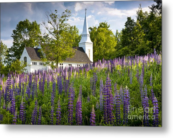 Church On Sugar Hill Metal Print