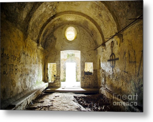 Church Ruin Metal Print