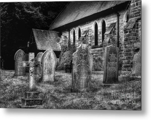 Churchyard Metal Print