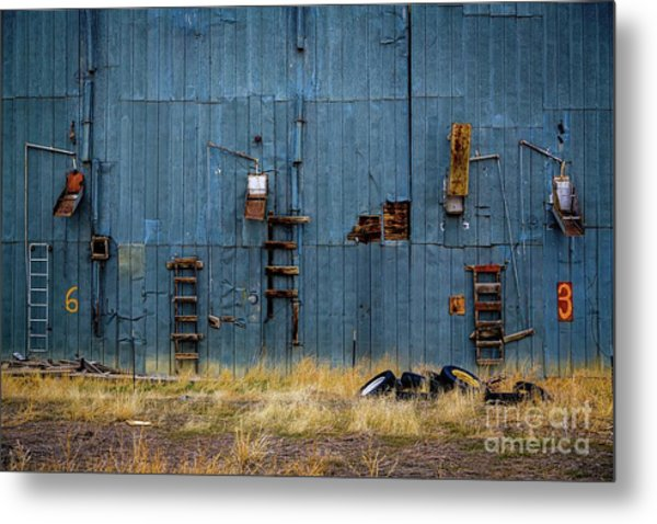 Chutes And Ladders Metal Print