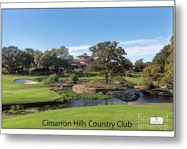 Cimarron Hills Metal Print