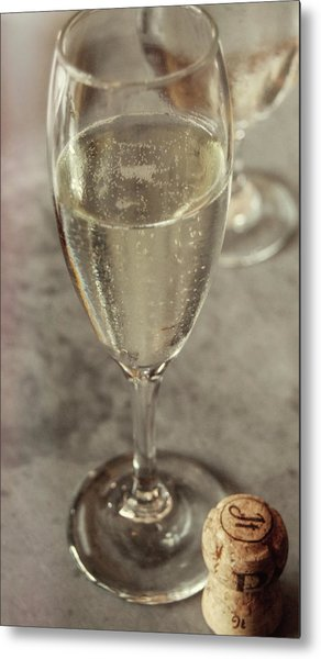 Cin Cin Champagne Therapy Metal Print by JAMART Photography