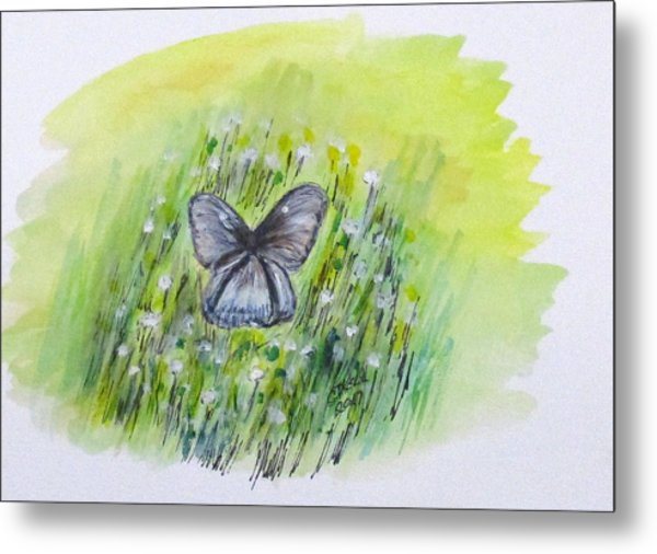 Cindy's Butterfly Metal Print