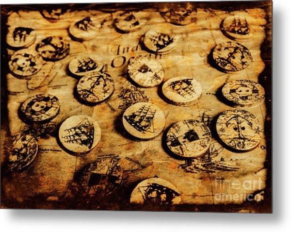 Circle Sails Metal Print