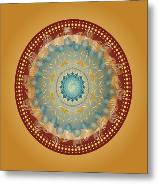 Circularity No 1640 Metal Print