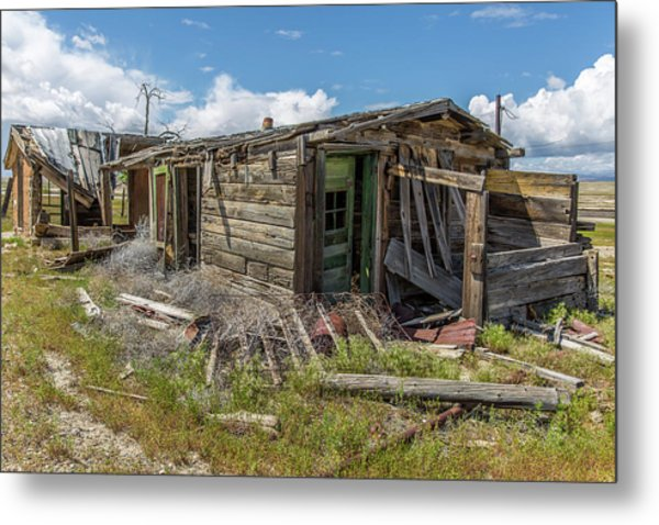 Cisco, Utah, Ghost Town Metal Print