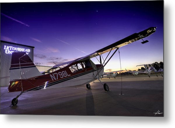 Citabria In The Twilight Of Dawn Metal Print
