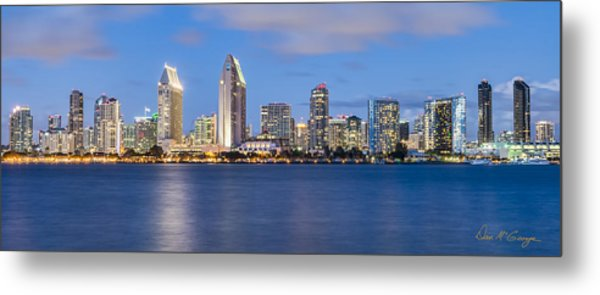 City Beautiful Metal Print