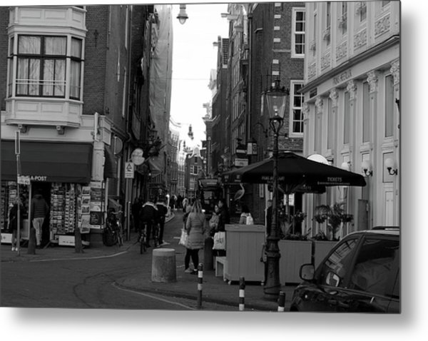 Metal Print featuring the photograph City Center 1 by Scott Hovind