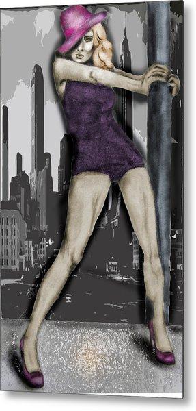 City Dancer Metal Print by Samantha Kulchar