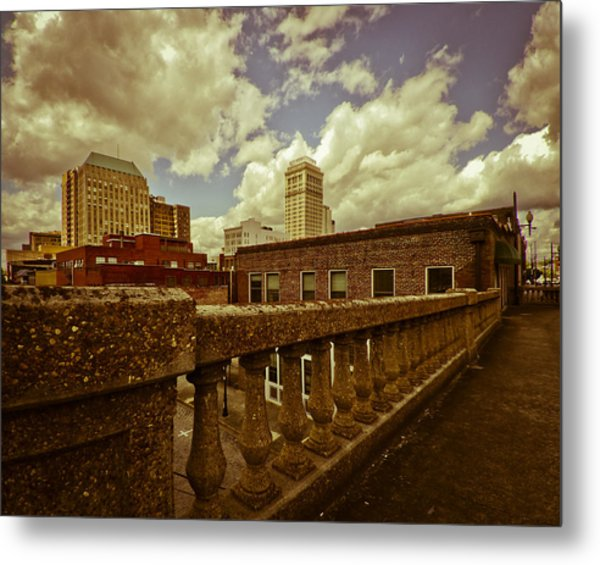 City Federal From The Viaduct Metal Print