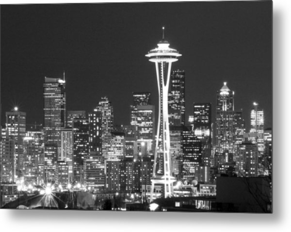 City Lights 1 Metal Print