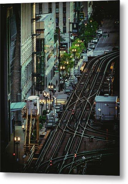 City Lines Metal Print