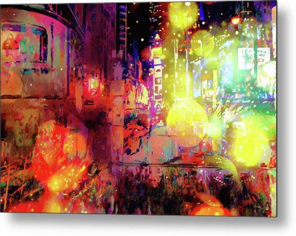 City Nights Metal Print